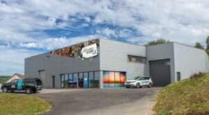 L'atelier et le show-room des Professionnels du Cadre à Besançon